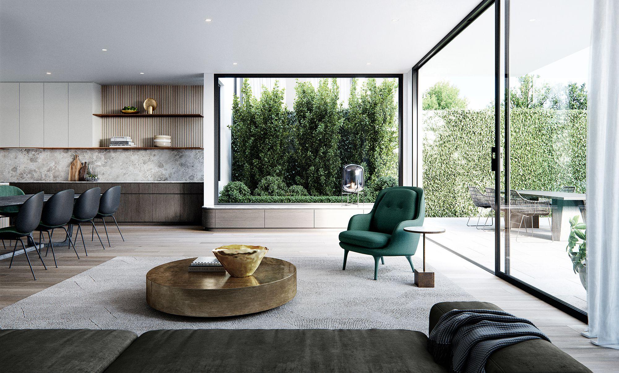 Marmont Contemporary Home Decor Modern Living Room Living Room