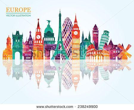 stock-vector-europe-skyline-detailed-silhouette-vector-illustration-238249900.jpg (450×368)