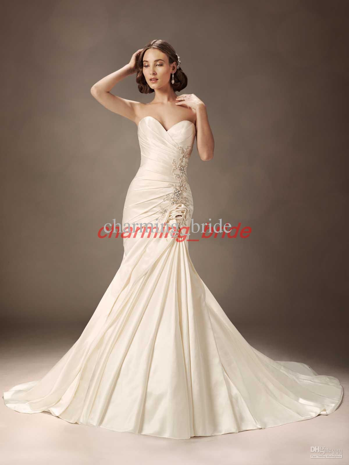 Wedding dress for pear shaped  Simple Ivory Wedding Dress  Best Wedding Dress for Pear Shaped