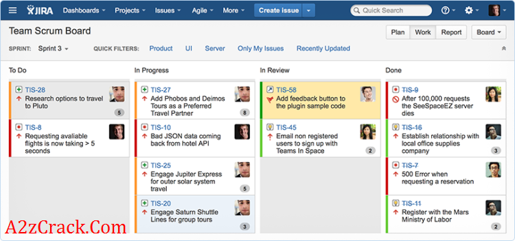 Jira Bug Tracking Software Project Tracking Software Tracking Software Agile
