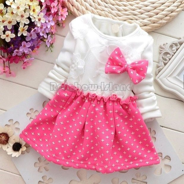 Newborn Toddler Kids Girl Vintage Printed Sleeveless Dress Party Skirt Outfits