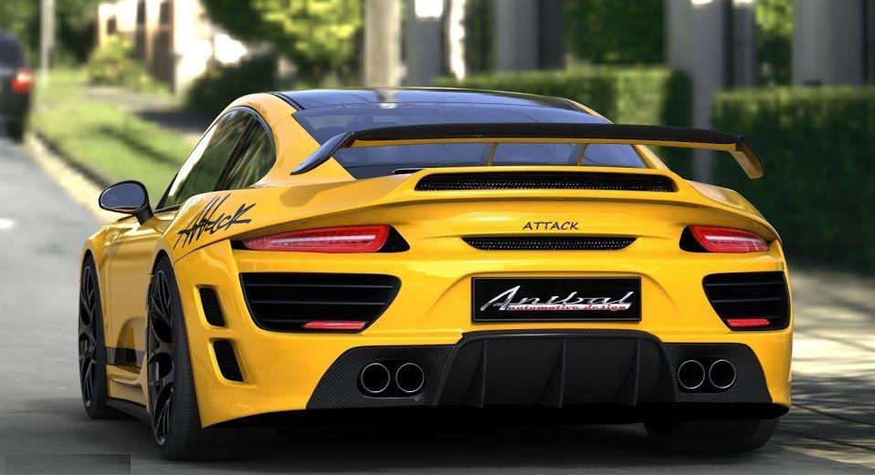 Yellow Porsche Attack Car Wallpaper Porsche Yellow Car Car