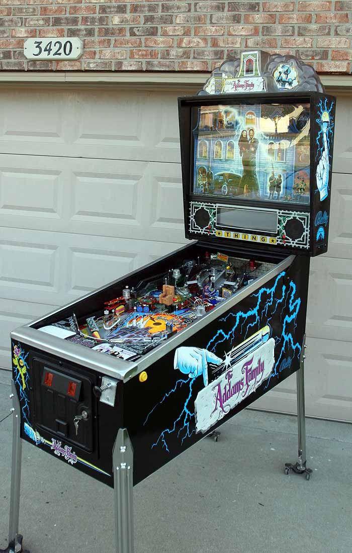 Addams Family Pinball Pinball, Game room bar