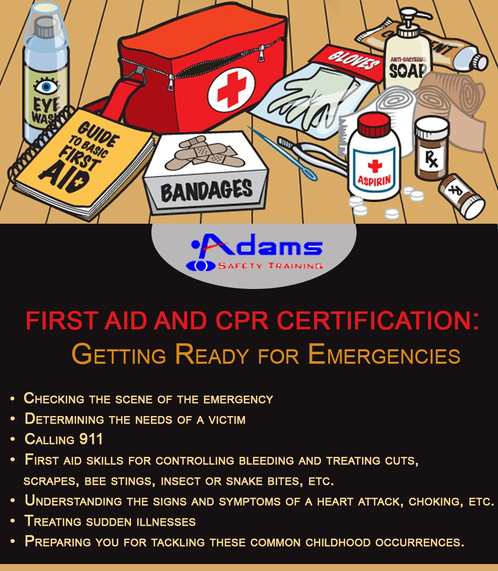 Getting A Firstaid And Cpr Certification Can Prepare You For