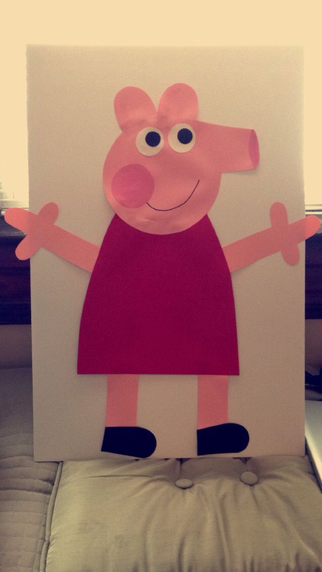 Pin the Tale on Peppa Pig
