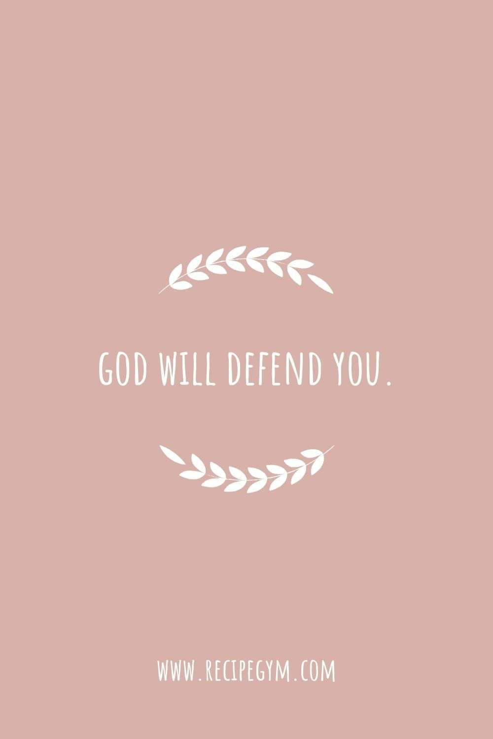 God will defend you   Jesus Cares   Love of God   Bible Quotes   Bible Aesthetic   Bible Wallpaper