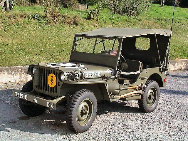 jeep willys 1944 photo 4 belles autos pinterest v hicules militaires guerre 39 45 et. Black Bedroom Furniture Sets. Home Design Ideas
