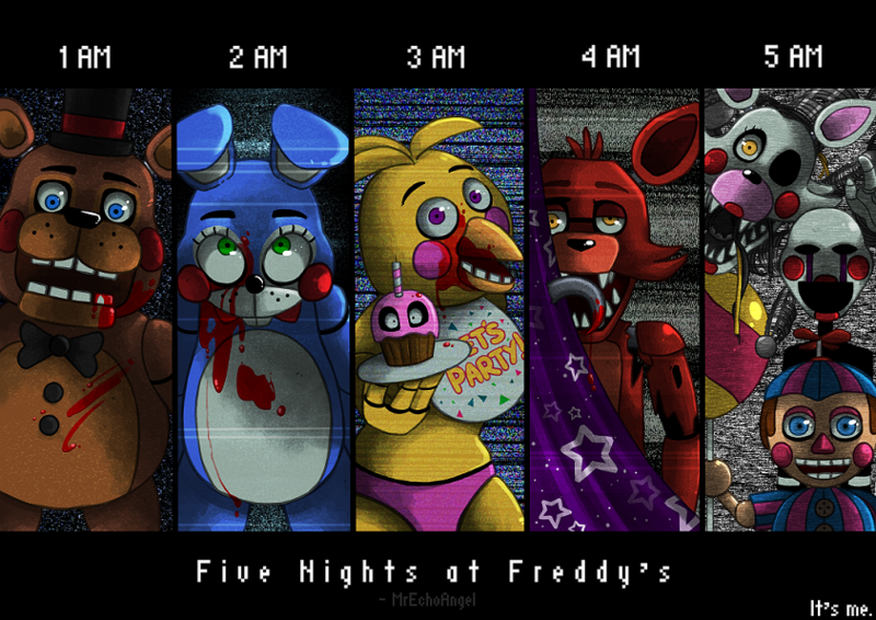 Five Nights At Freddy S By Mrechoangel D86u69z Png 800 566 Five Nights At Freddy S Fnaf Five Night