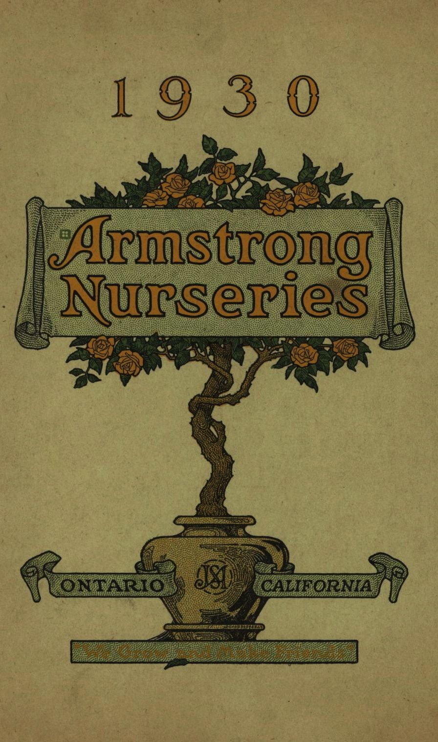 Armstrong Nurseries 1930 From The Ociation For Preservation Technology Apt Building Heritage Library An Online Archive Of Period