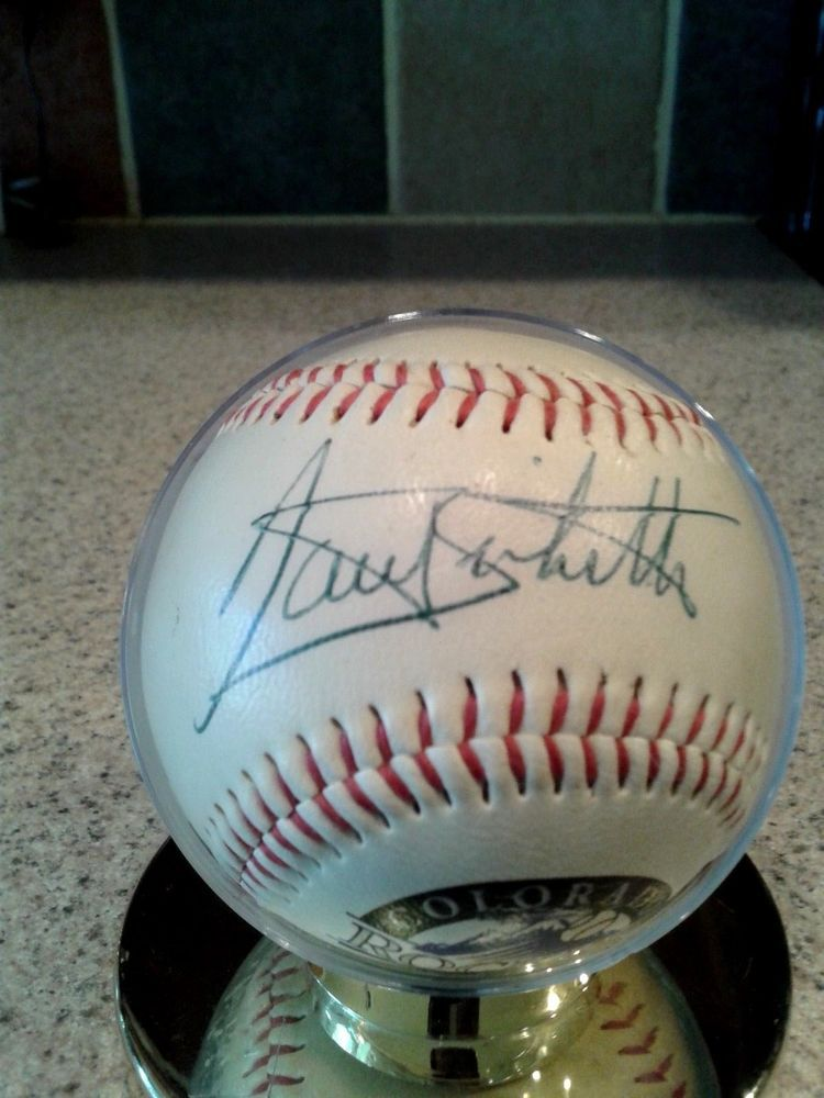Balls Sports Mem, Cards & Fan Shop Mystery Major League Player Hand Signed Autographed Authentic Olb Baseball Star?