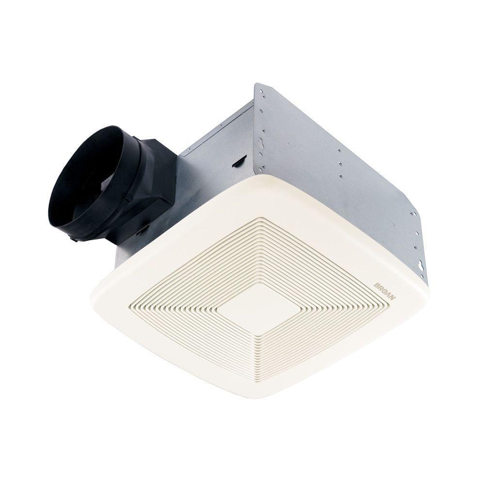 Broan Qt Series Very Quiet 80 Cfm Ceiling Bathroom Exhaust Fan