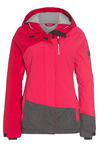 Brauch Fabrik authentisch aktuelles Styling VITTORIO ROSSI Skijacke mit Kapuze – Damen Frauen Ski-Jacke ...