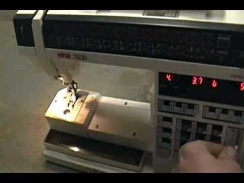 ELNA 7000 SEWING MACHINE - YouTube | Elna 7000 | Sewing Majestic Precision Sewing Machine Wiring Diagram on