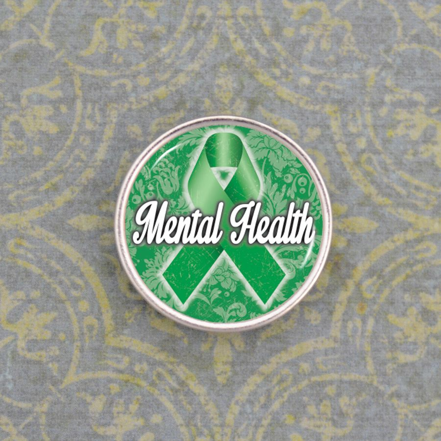 charmingcollectables.net - Mental Health Awareness Snap, $5.00…