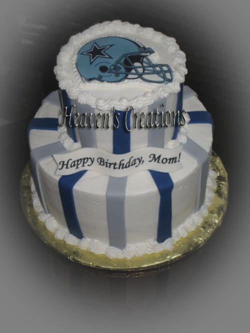 Dallas Cowboy Cake Cake Nfl Nba Mlb Nhl Pinterest Dallas