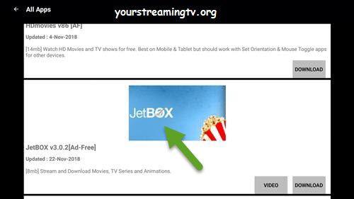 JetBox APK APP Install Guide For FireStick & Fire TV