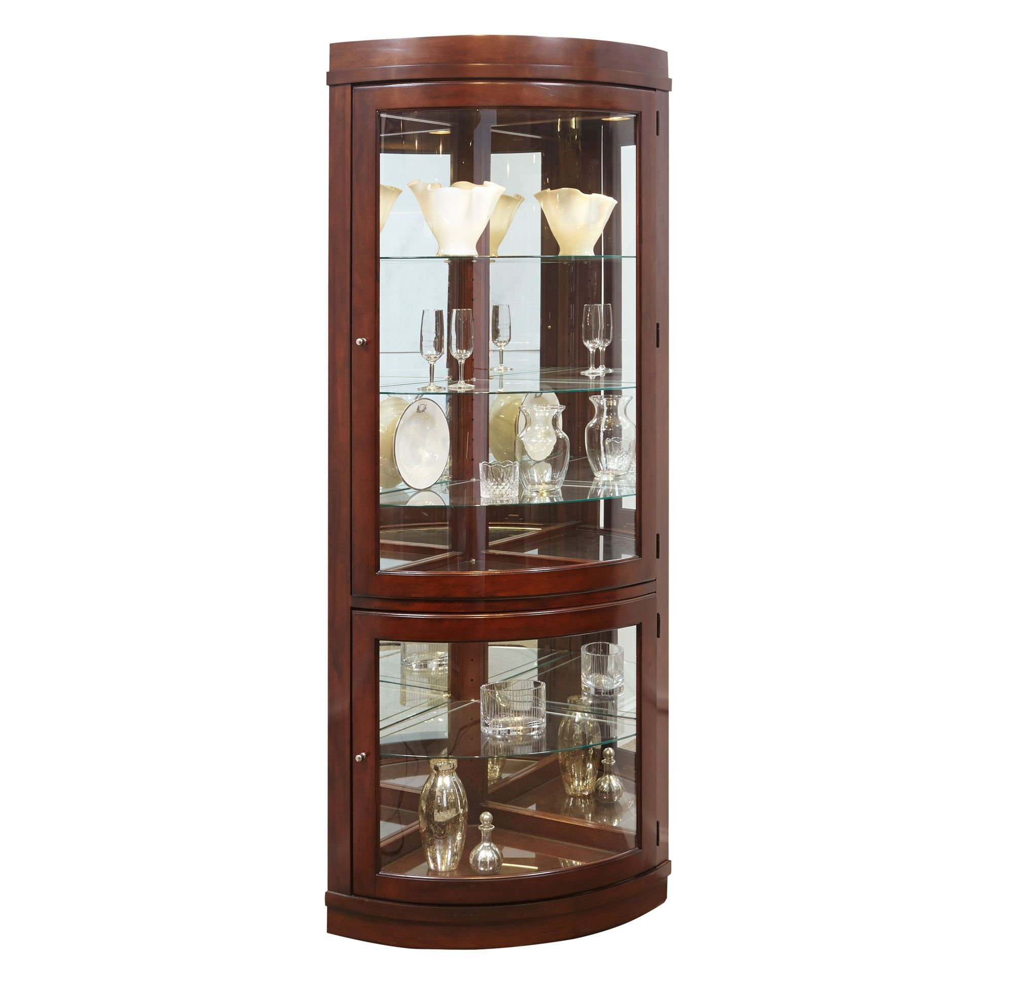 lighted pdx ferron cabinet darby wayfair curio home corner co reviews furniture