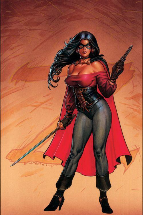 Joseph Linsner - Lady Zorro