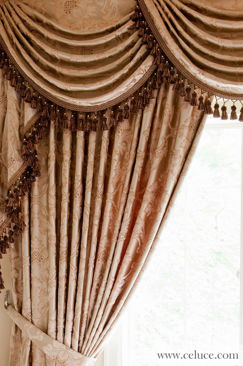 Celuce customize curtains online swag valance