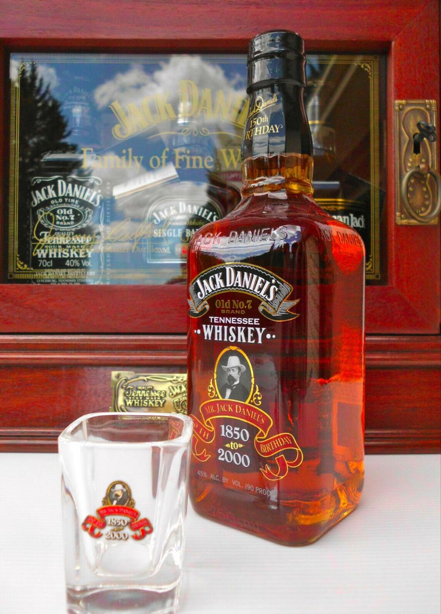 Jack Daniel S 150th Birthday Bottle In 2020 Cigars And Whiskey Fine Wine And Spirits Alcohol Drink Recipes