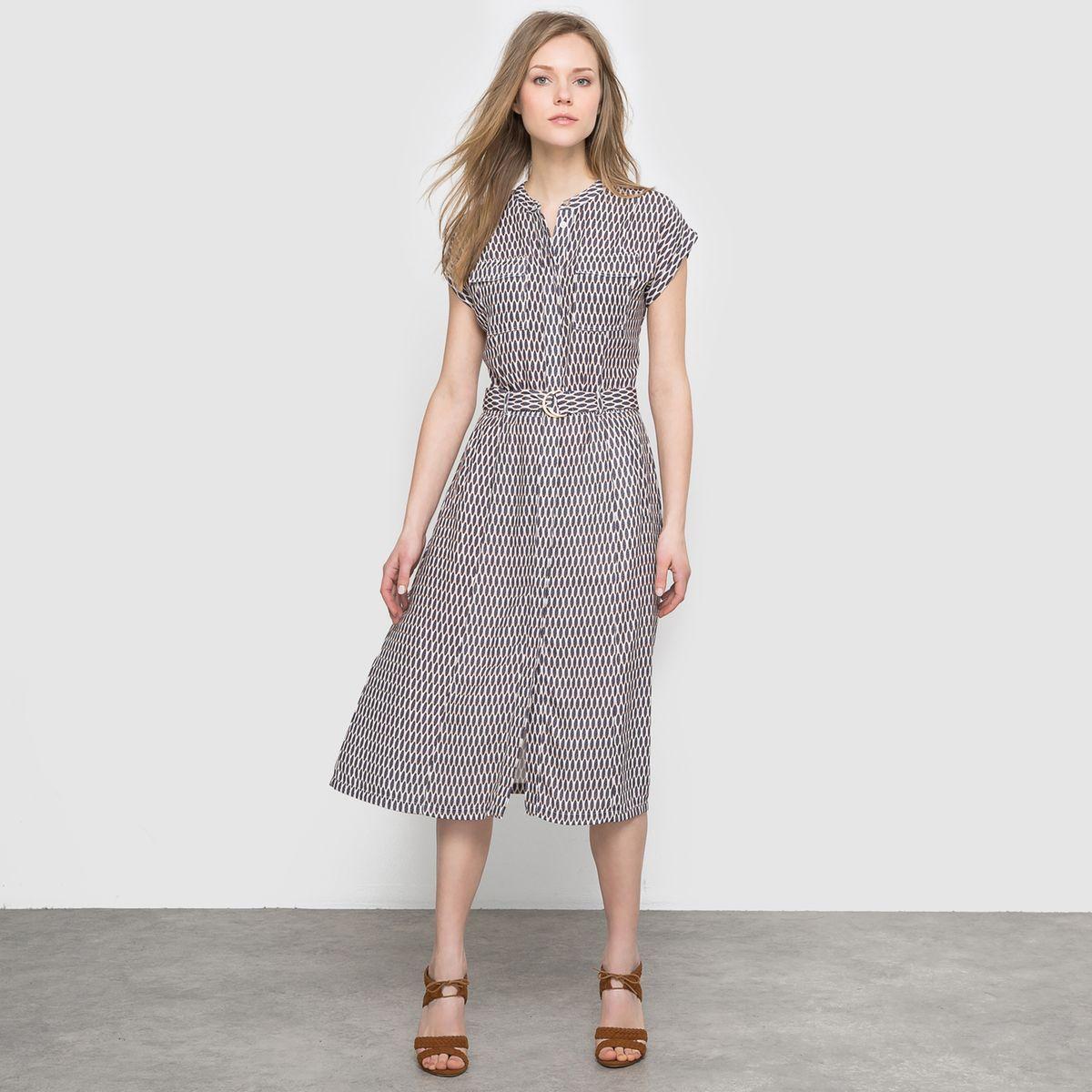 cdf66373799 Robe imprimée Laura Clement