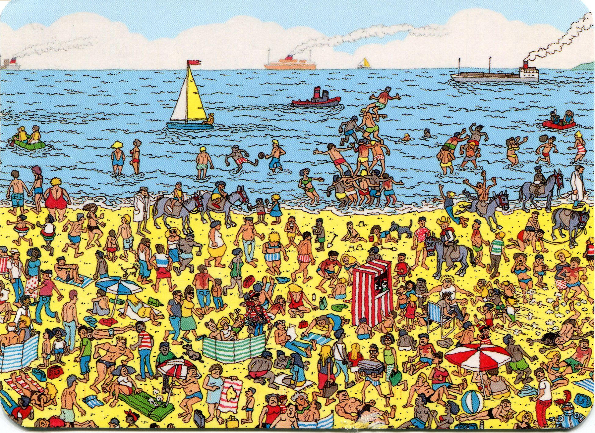 Where's Waldo? | Learning activities
