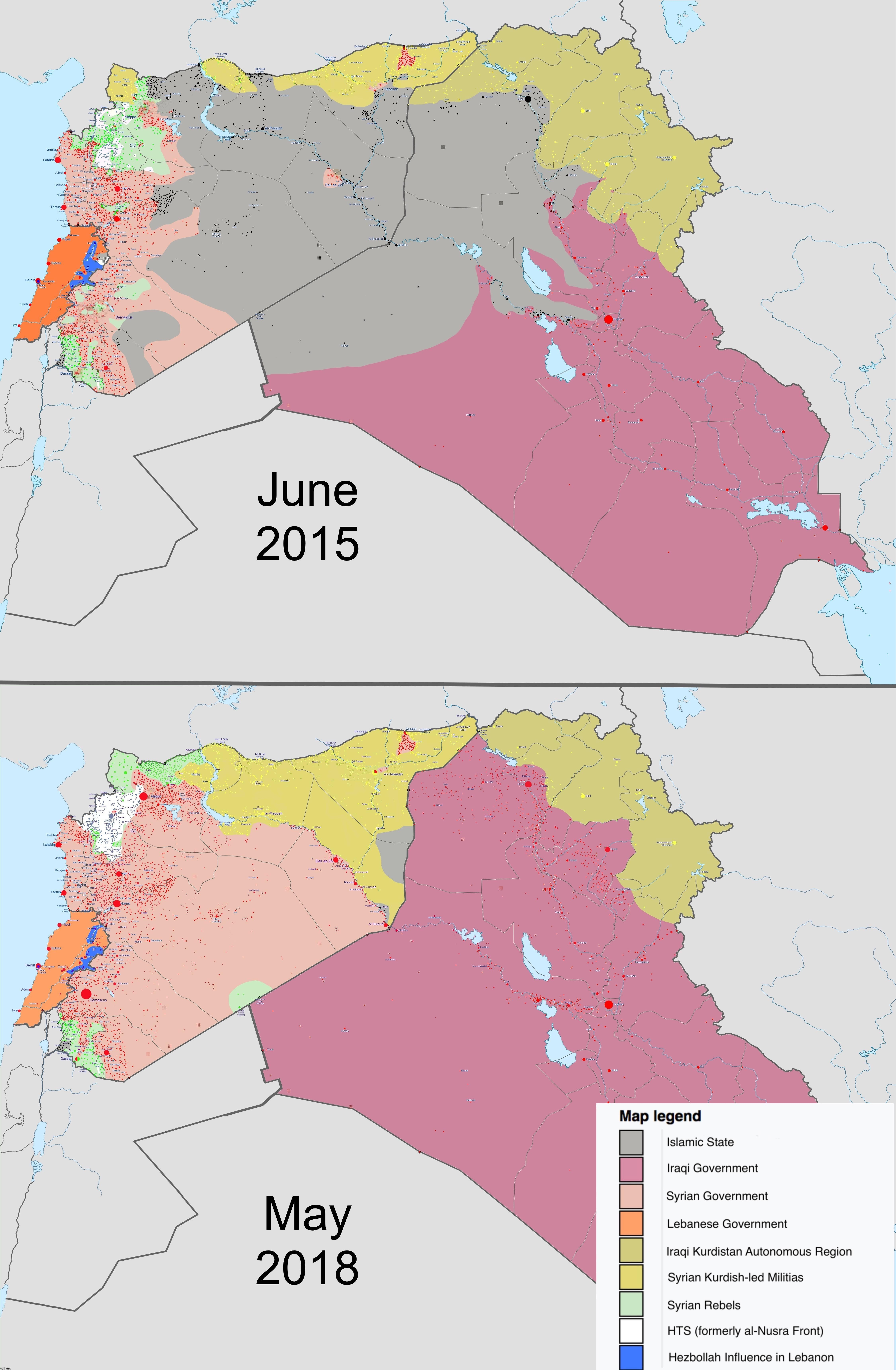 The death of Islamic State from their