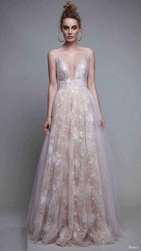 Berta A-Line Blush Evening Gown   Dresses   Pinterest   Gowns, Prom ...