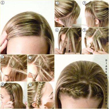 trenzas para niñas paso por paso modernos Peinados de niñas