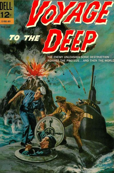 Voyage to the Deep #4 Dell Comics Last issue! If you like