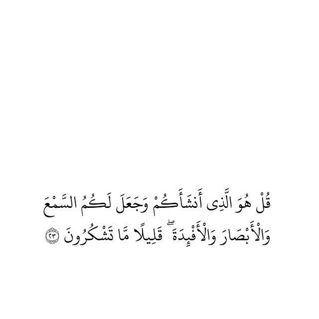 اقتباسات On Instagram الملك آيه ٢٣ الحمدلله حمد الشاكرين الذاكرين God Loves Me Quotes My Love