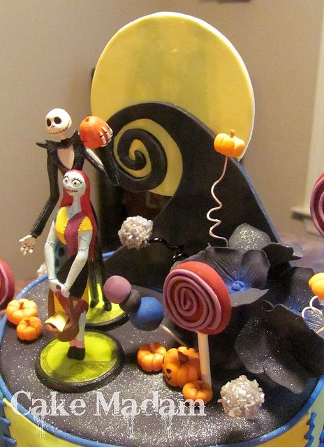 The Nightmare before Christmas cake Fun-tastic Cakes Pinterest