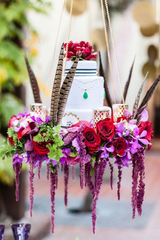 Wedding Cake Pam Scott Photography via CeremonyBlog.com