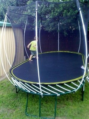 Springfree Trampoline, The Worldu0027s Safest Trampoline, Provides The Safest  Spring Less, Enclosed Backyard Trampolines For Kids Of All Ages!