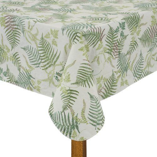 Mainstays Mountain Fern Tablecloth 70 in Round Mainstays