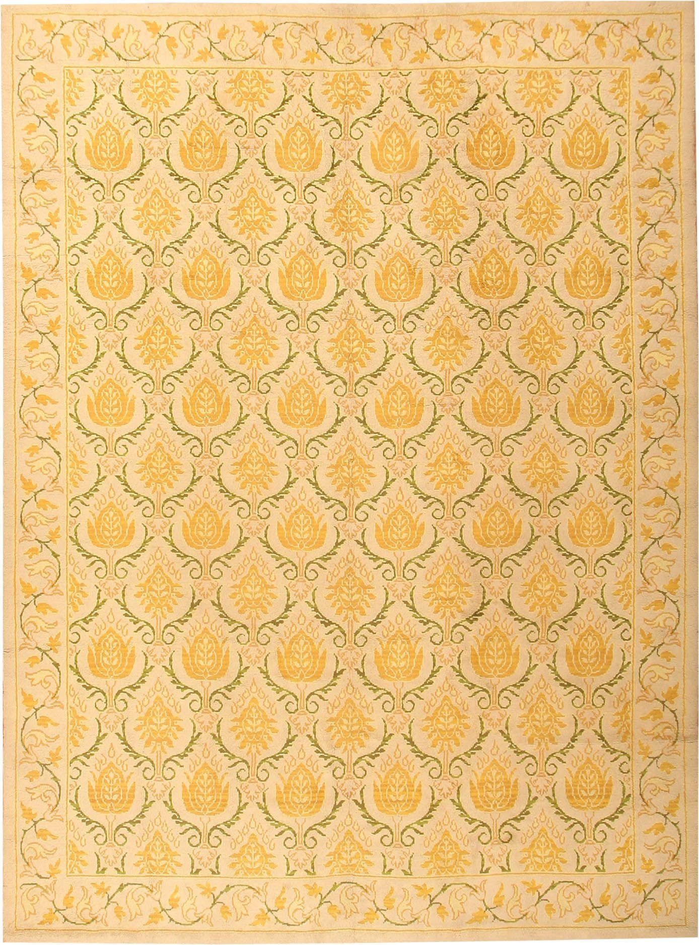 Art Deco Spanish Carpets 2943 Nazmiyal Antique Rugs Art Deco