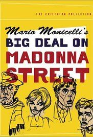 Big Deal On Madonna Street Poster Madonna The Criterion Collection Big Deal
