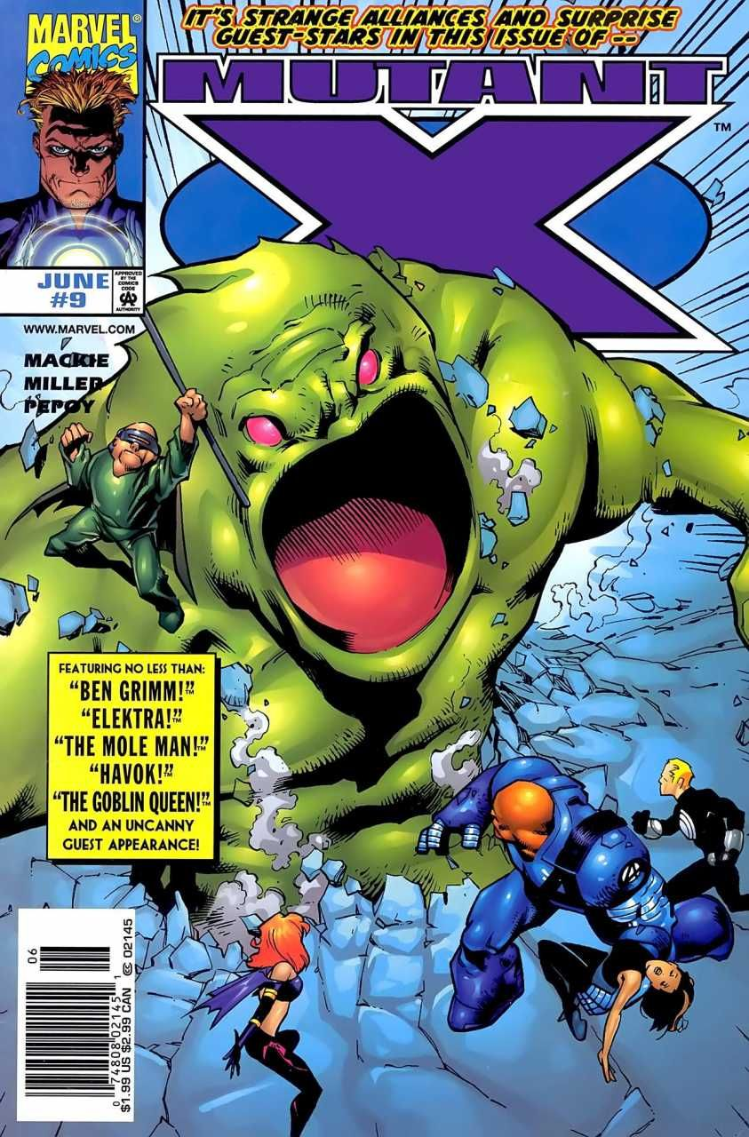 Mutant X # 9 by Cary Nord & Andrew Pepoy