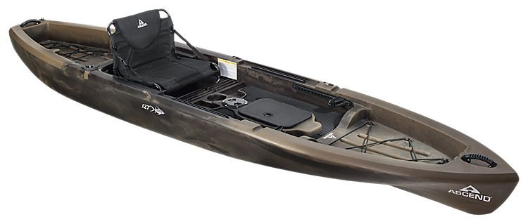 Ascend 12t Sit On Top Camo Kayak Outdoors Kayaking