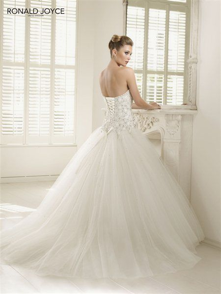 Ronald joyce pandora back wedding day pinterest for Ronald joyce wedding dresses prices