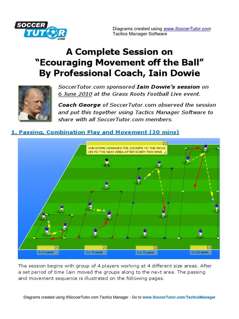 Soccer Tutor Download As Pdf File Pdf Text File Txt Or Read Online Soccer Coaching Soccer Soccer Training