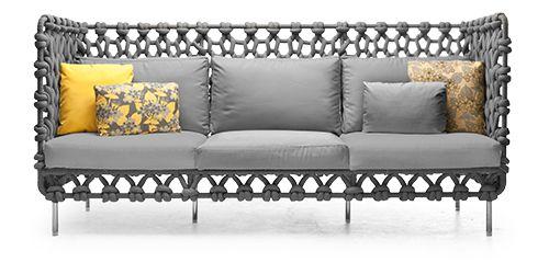 Kenneth Cobonpue  Collections  CABARET  Sofa outdoor furniture - designer gartenmobel kenneth cobonpue