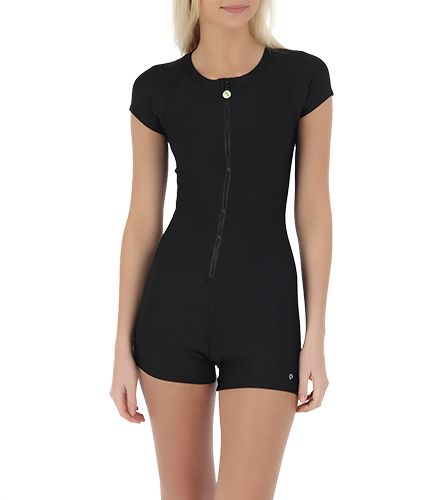 0bfba8d871b6a Next Good Karma Solid SUP Boy Short One Piece at SurfOutlet.com - Free  Shipping