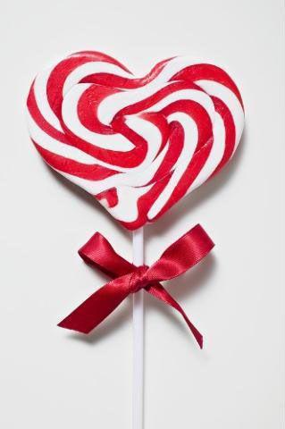 100g Heart Shaped Lollipop from theprofessors.com.au!