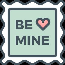 Valentine S Day Flat Line By Vandelay Design Icon Set Stamp Line S