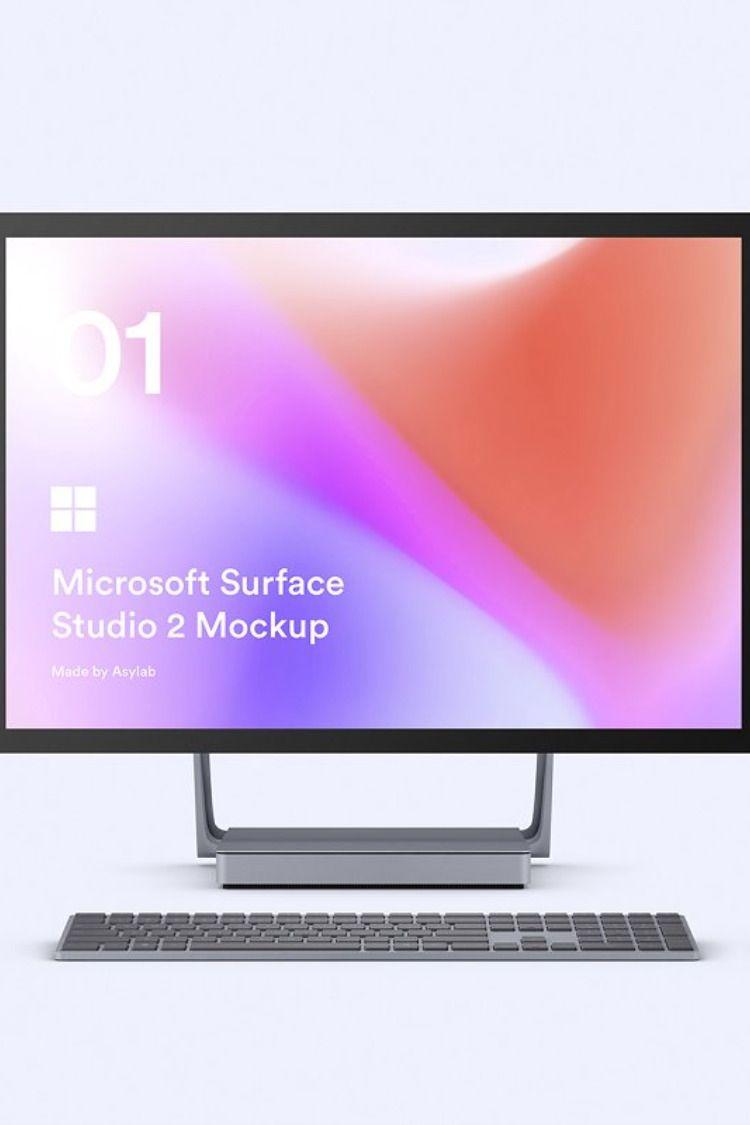 Desktop Surface Studio 2 Mockups Surface Studio Microsoft Surface Surface