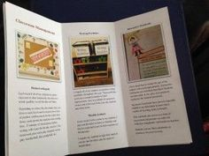 Create A Personalized Brochure To Leave At Teaching