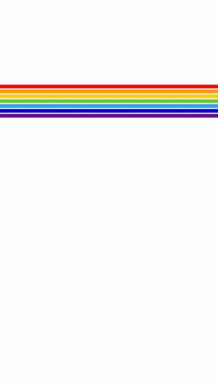 Iphone And Android Wallpapers Rainbow Pride Stripe Wallpaper For