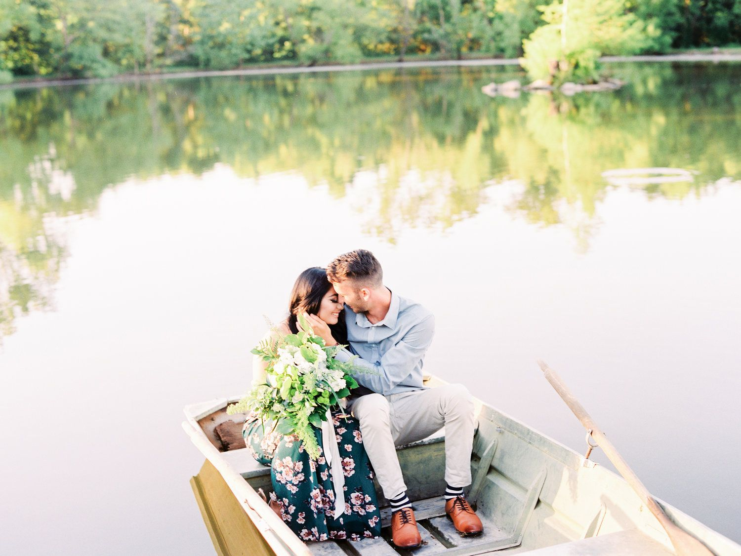 Sydney and Tony\'s Lost Hill Lake Events Engagement Session ...