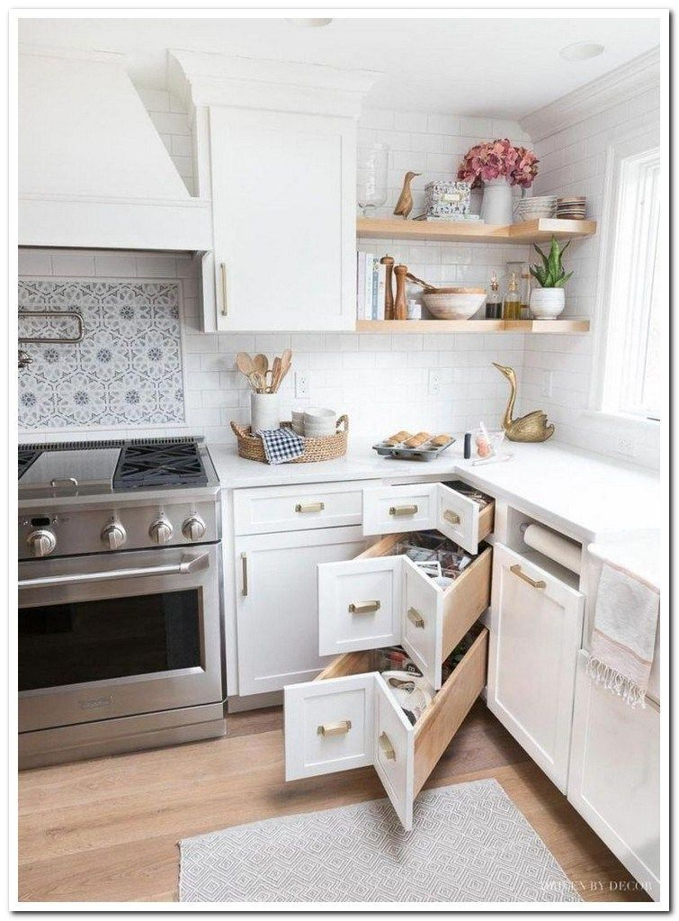 Top 46 small kitchen ideas design on a budget 32 #topkitchendesigns
